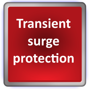 Transient surge protection